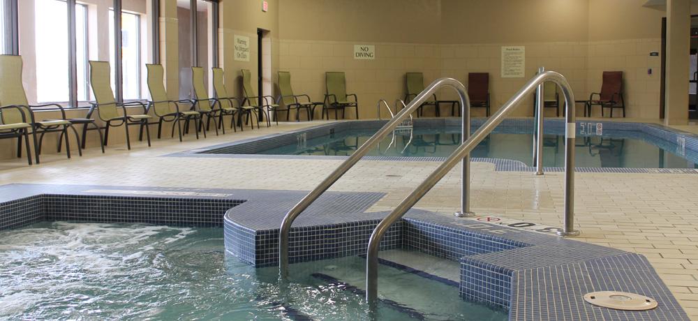 Indoor Pool  & Spa Tub