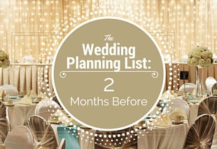 the wedding planning list 2 months before the big day waterfront