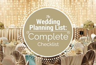 The Ultimate Wedding Planning Checklist | Waterfront Hotel